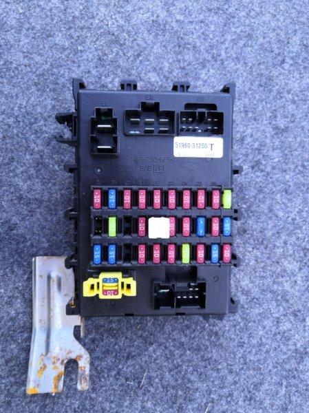 Блок предохранителей Nissan Almera Classic B10 QG16 2006 (б/у)