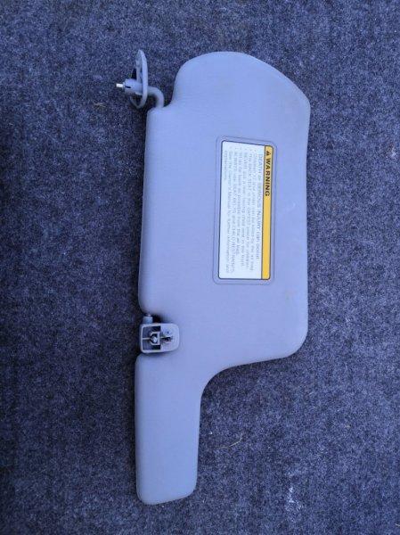 Козырек солнцезащитный Nissan Almera Classic B10 QG16 2006 передний левый (б/у)
