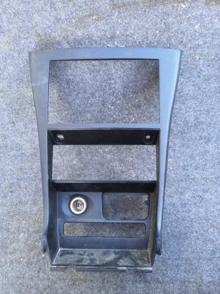 Рамка магнитофона Nissan Almera Classic B10 QG16 2006 передняя (б/у)