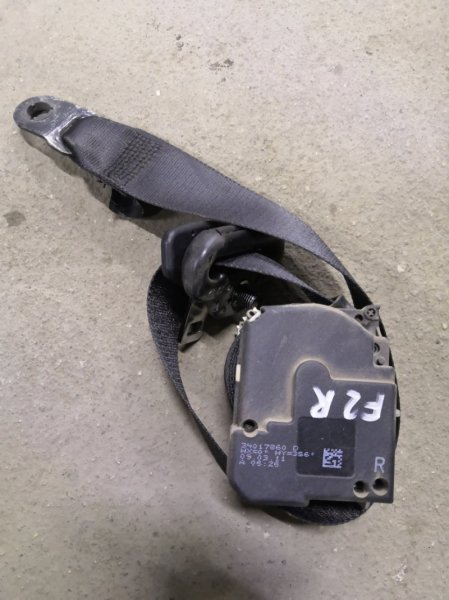 Ремень безопасности Ford Focus 2 CB4 SHDA 2008 передний правый (б/у)
