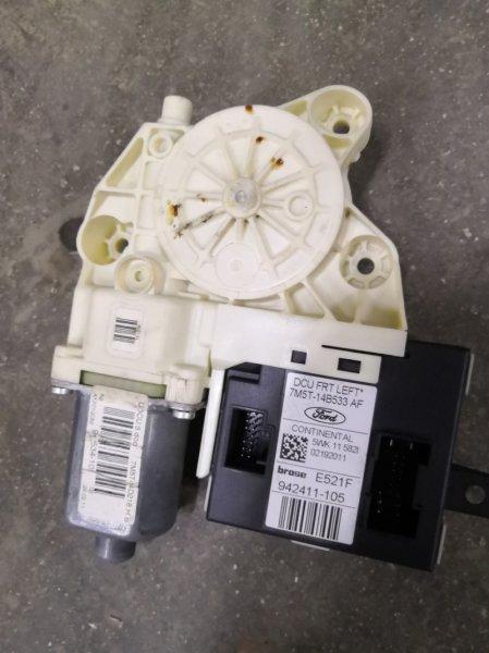 Мотор стеклоподъемника Ford Focus 2 CB4 SHDA 2008 передний левый (б/у)