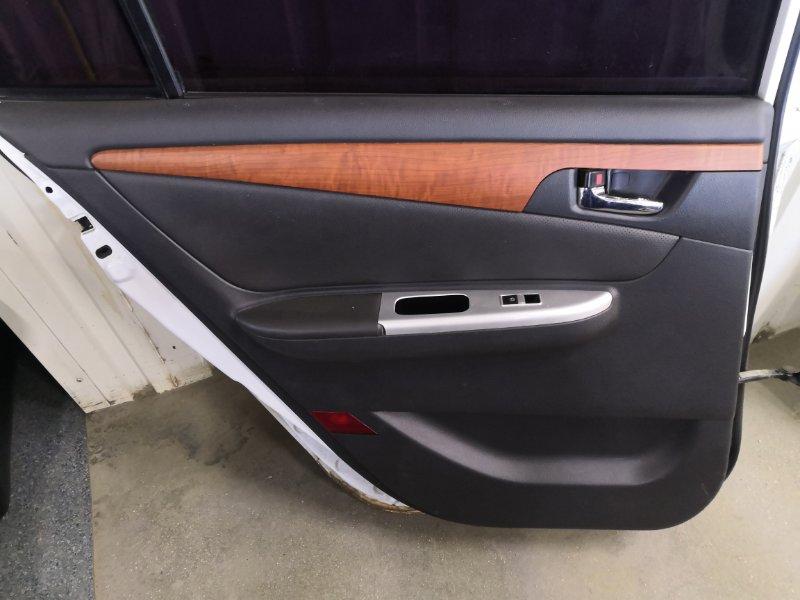 Обшивка двери Lifan Solano 620 LF481 2010 задняя левая (б/у)