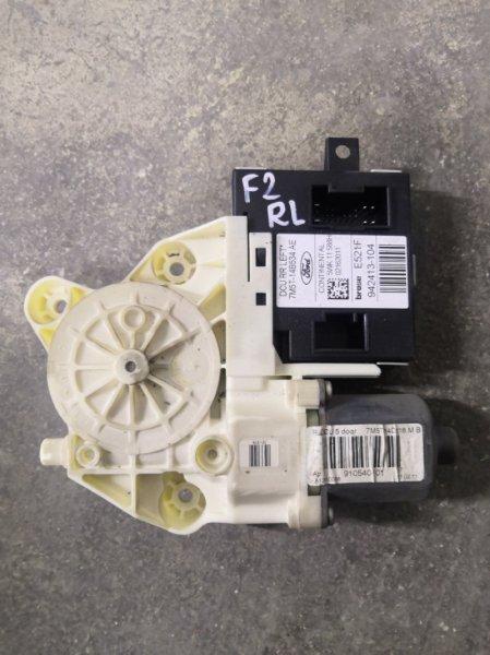 Мотор стеклоподъемника Ford Focus 2 CB4 2008 задний левый (б/у)