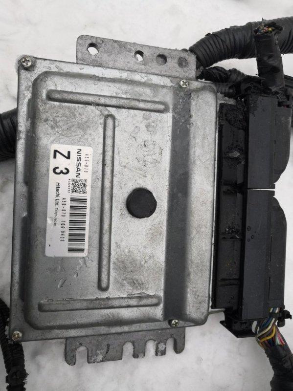 Блок управления двс Nissan March K12 CR12 2002 (б/у)