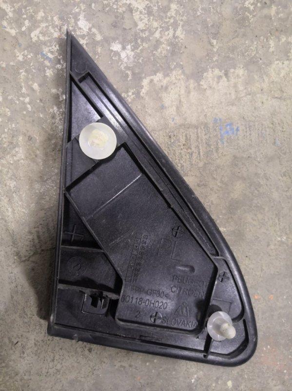 Накладка на крыло Citroen C1 Р 1KR 2008 передняя левая (б/у)