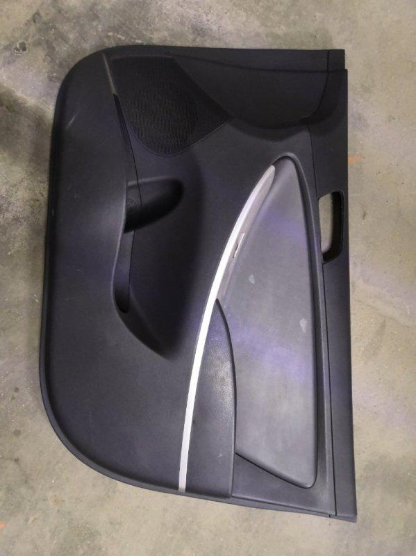 Обшивка двери Hyundai Solaris RB G4FA 2011 передняя правая (б/у)