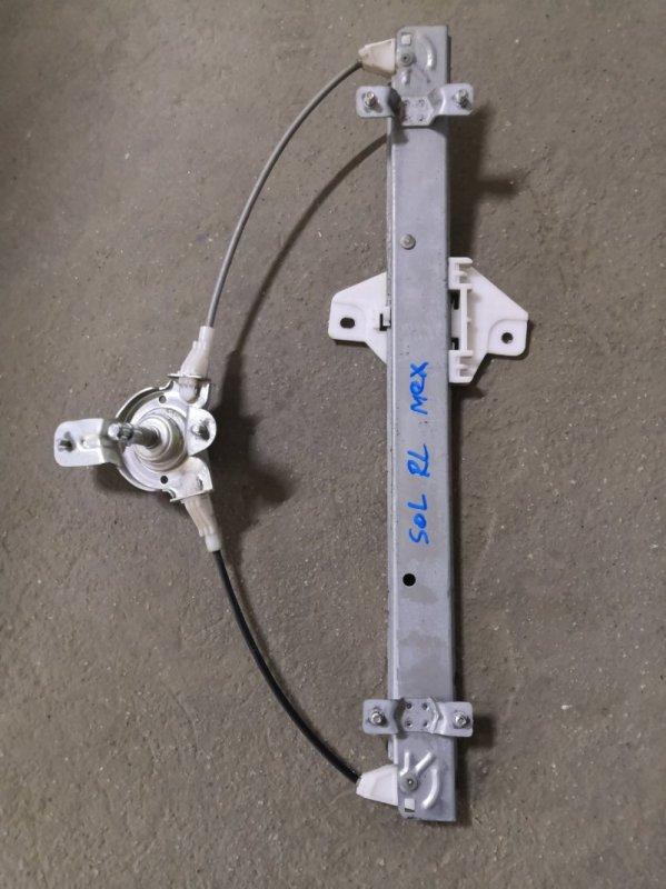 Стеклоподъемник Hyundai Solaris RB G4FA 2011 задний левый (б/у)