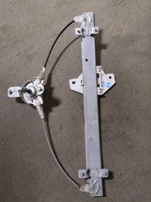 Стеклоподъемник Hyundai Solaris RB G4FA 2011 задний правый (б/у)