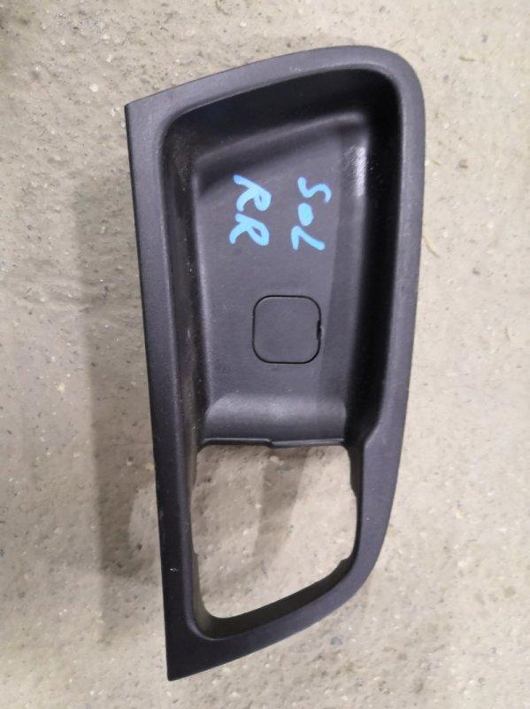 Ручка двери внутренняя Hyundai Solaris RB G4FA 2011 задняя правая (б/у)
