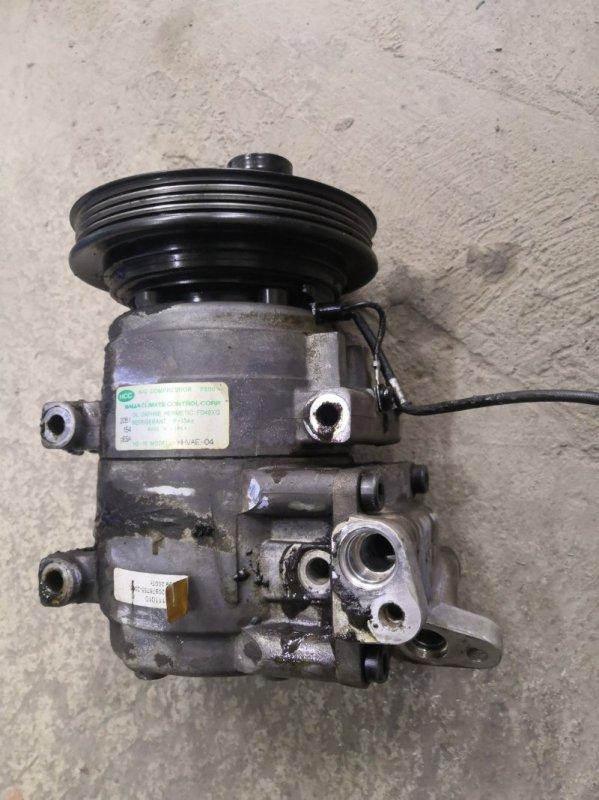 Компрессор кондиционера Kia Spectra SD S6D 2004 (б/у)