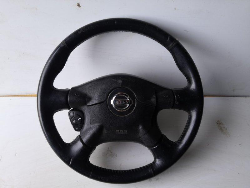 Руль Nissan Primera P12 QR20 2001 (б/у)