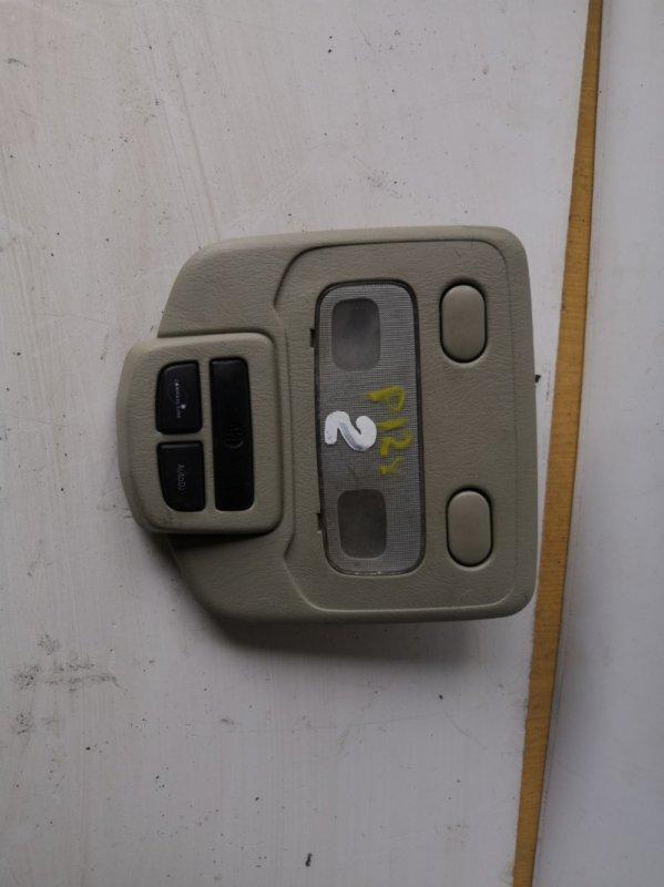 Плафон освещения салона Nissan Primera P12 QR20 2001 передний (б/у)