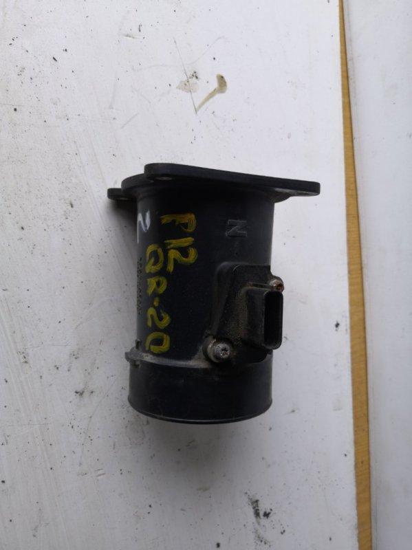 Датчик расхода воздуха Nissan Primera P12 QR20 2001 (б/у)