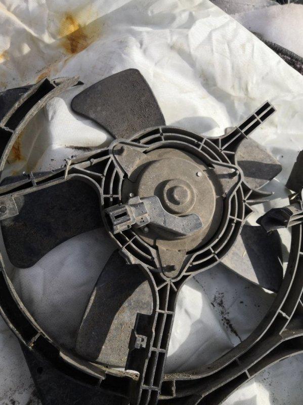 Моторчик вентилятора охлаждения Nissan Primera P12 QR20 2001 (б/у)