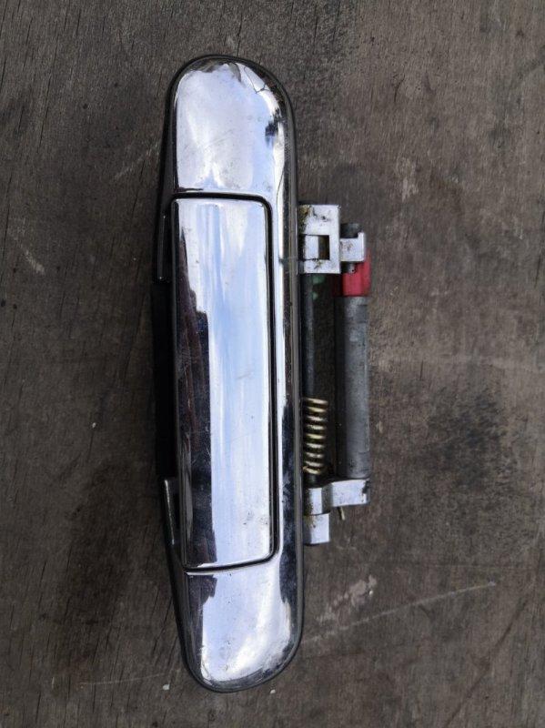 Ручка двери внешняя Nissan Cube Z10 1998 передняя правая (б/у)