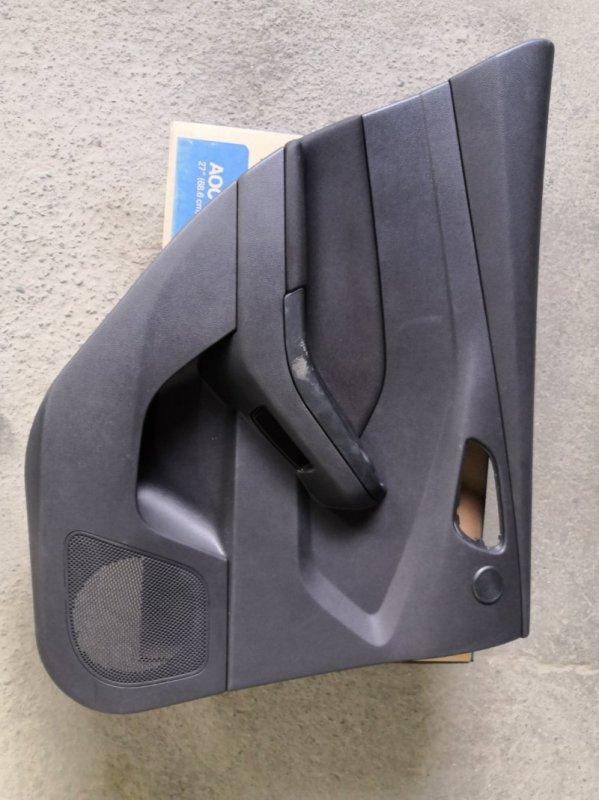 Обшивка двери Ford Focus 3 CB8 XQDA 2011 задняя левая (б/у)