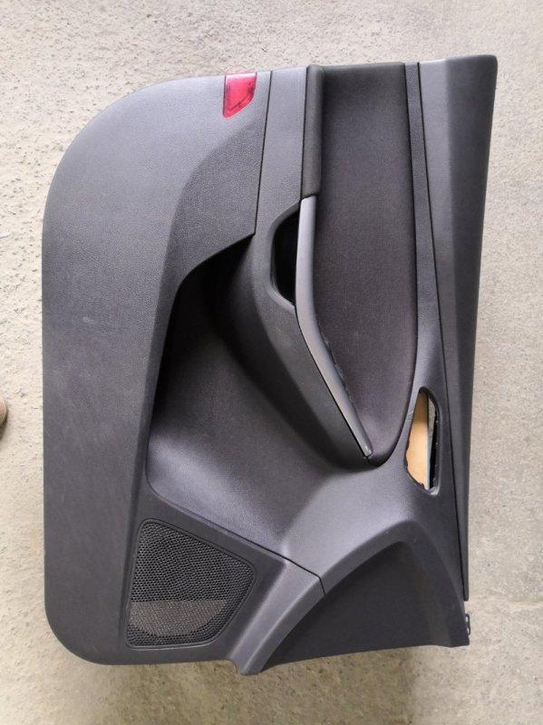 Обшивка двери Ford Focus 3 CB8 XQDA 2011 передняя левая (б/у)