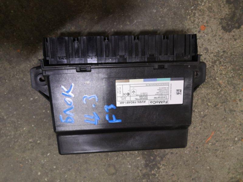 Блок управления центральным замком Ford Focus 3 CB8 XQDA 2011 (б/у)