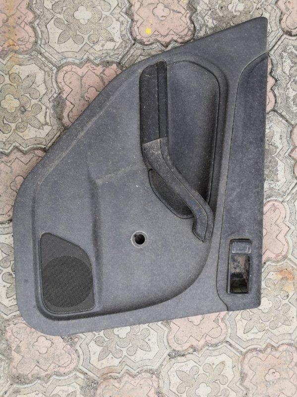 Обшивка двери Ford Focus 2 CB4 SHDA 2008 задняя левая (б/у)