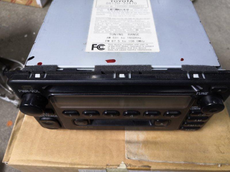Магнитофон Toyota Rav4 CA20 2000 (б/у)