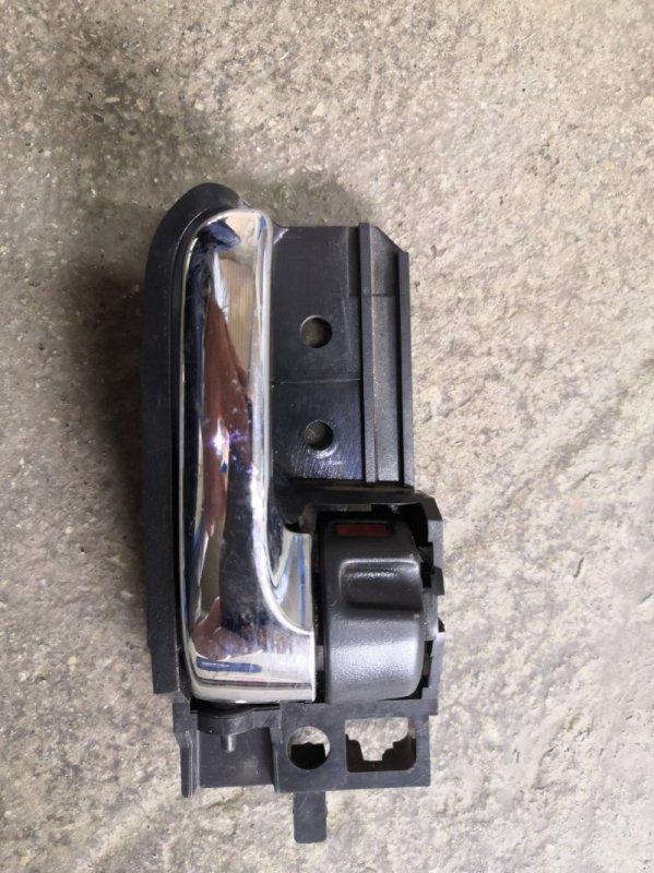 Ручка двери внутренняя Toyota Corolla E120 2000 задняя правая (б/у)
