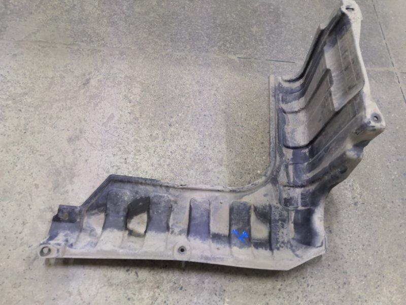 Защита двигателя Hyundai Solaris RB G4FC 2011 передняя левая (б/у)