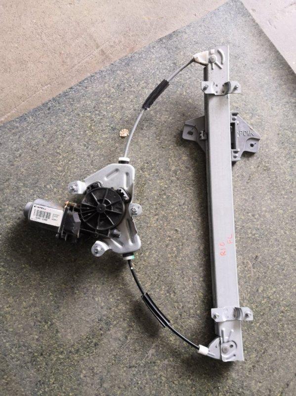 Стеклоподъемник Kia Rio QB 2011 передний левый (б/у)
