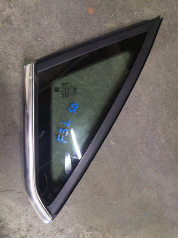 Форточка Ford Focus 3 CB8 PNDA 2010 задняя левая (б/у)