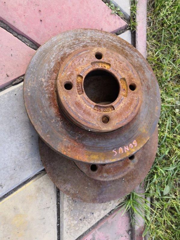 Тормозной диск Chery Bonus A13 A13 SQR477F 2011 передний (б/у)