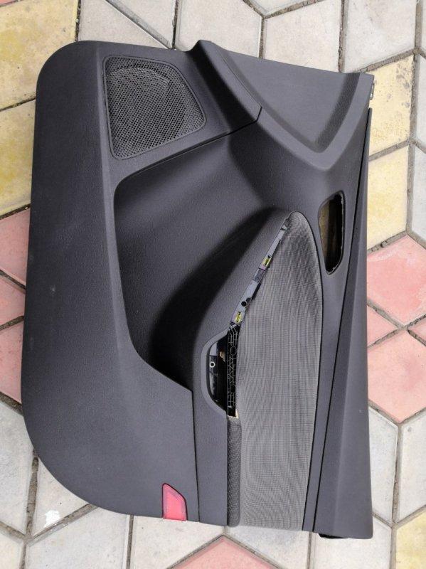 Обшивка двери Ford Focus 3 CB8 PNDA 2010 передняя правая (б/у)