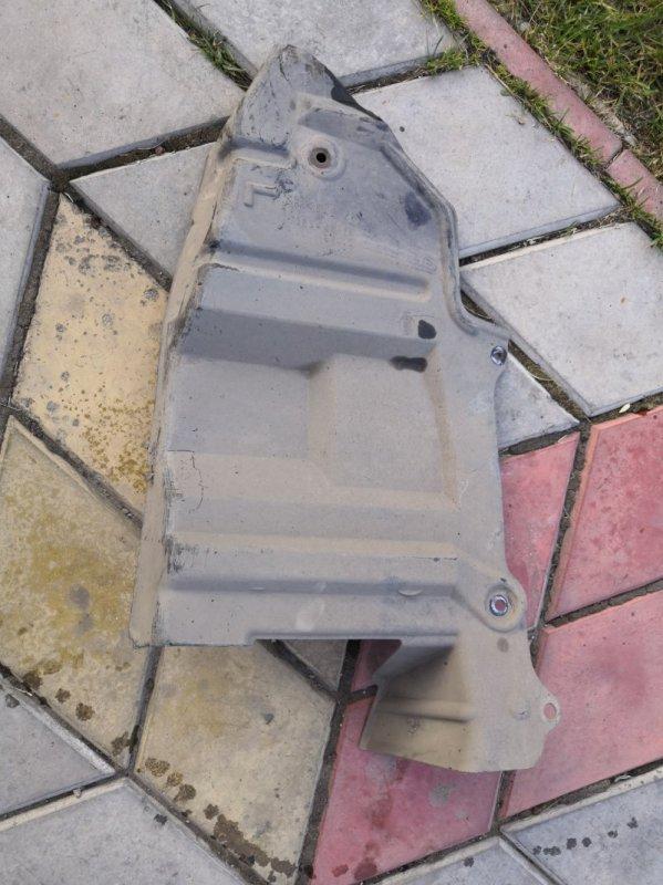 Защита двигателя Nissan Wingroad Y11 QG15-DE 1999 передняя левая (б/у)