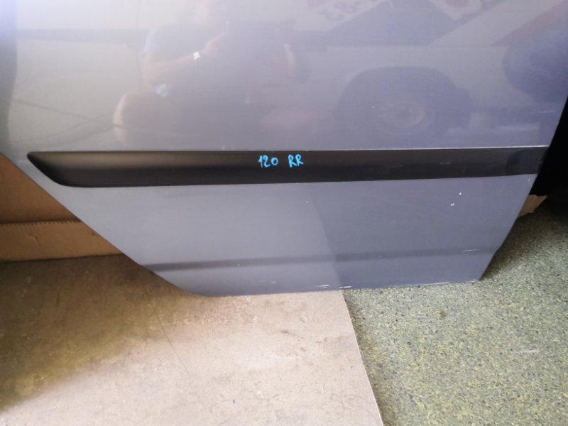 Молдинг на дверь Toyota Corolla E120 2000 задний правый (б/у)