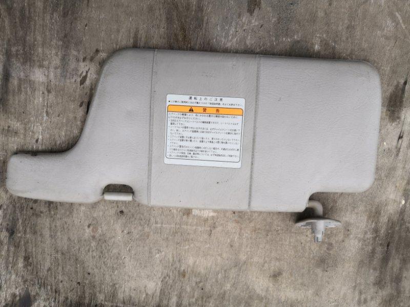 Козырек солнцезащитный Nissan Wingroad Y11 QG15-DE 1999 передний левый (б/у)