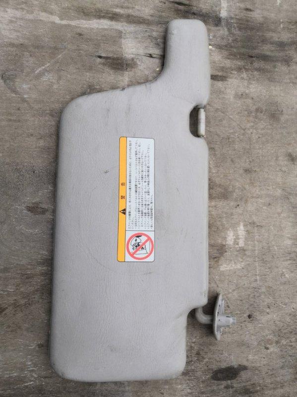 Козырек солнцезащитный Nissan Wingroad Y11 QG15-DE 1999 передний правый (б/у)