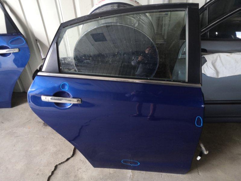 Дверь Nissan Almera G15 K4M 2013 задняя правая (б/у)