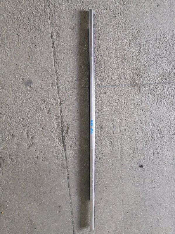 Молдинг на дверь Nissan Almera G15 K4M 2013 задний левый (б/у)
