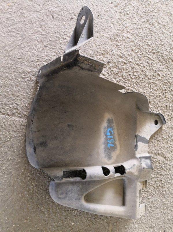 Защита двигателя Nissan Almera G15 K4M 2013 передняя левая (б/у)