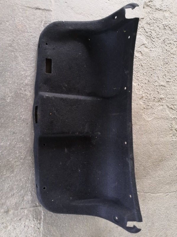 Обшивка багажника Nissan Almera G15 K4M 2013 задняя (б/у)
