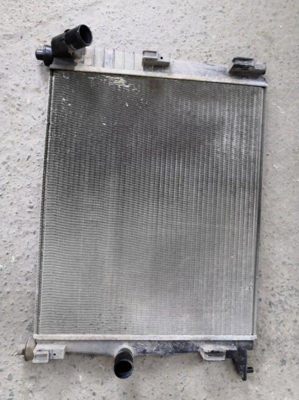 Радиатор двс Nissan Almera G15 K4M 2013 (б/у)