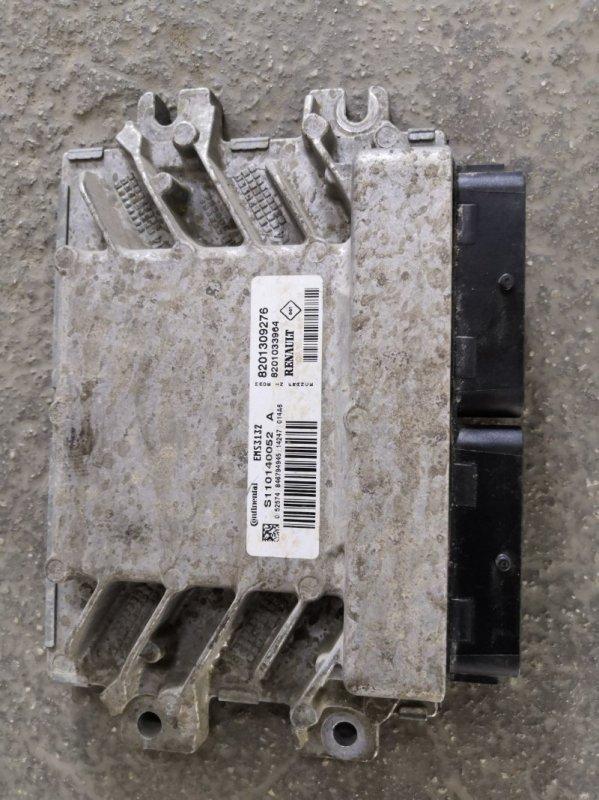 Блок управления двс Nissan Almera G15 K4M 2013 (б/у)