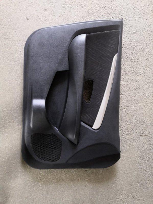 Обшивка двери Nissan Almera G15 K4M 2013 передняя левая (б/у)