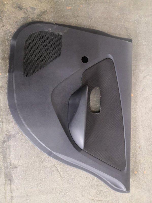 Обшивка двери Nissan Almera G15 K4M 2013 задняя правая (б/у)