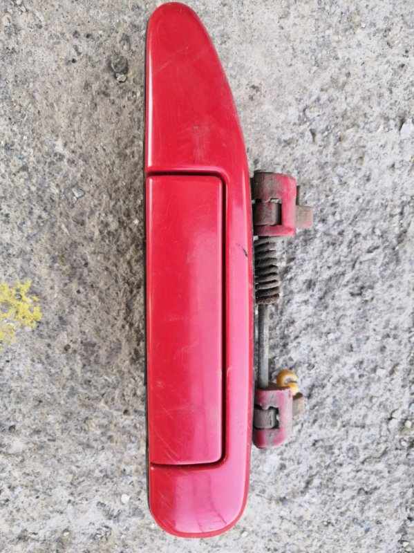 Ручка двери внешняя Nissan Wingroad Y11 1999 передняя левая (б/у)