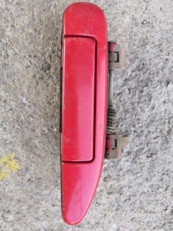 Ручка двери внешняя Nissan Wingroad Y11 1999 передняя правая (б/у)