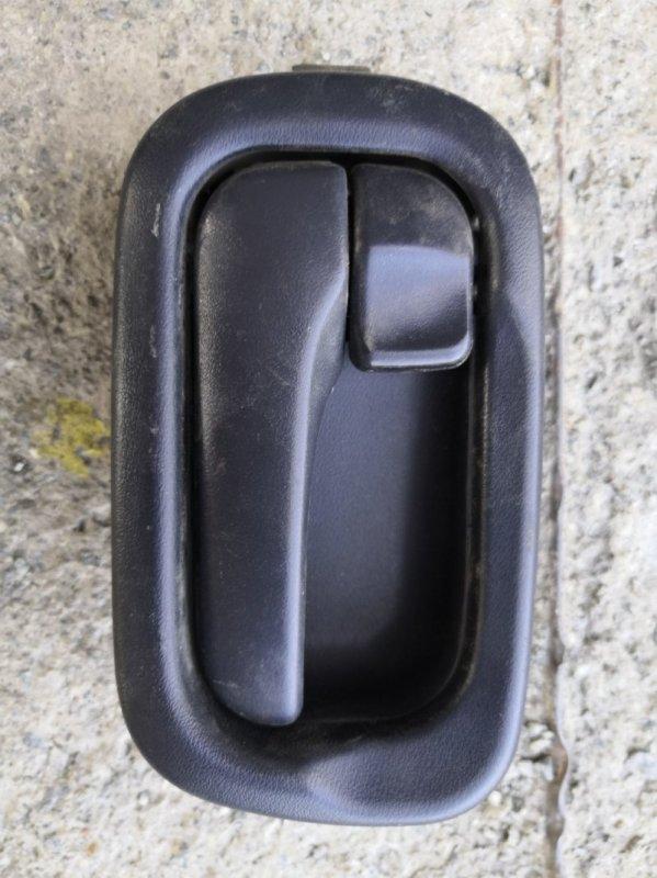 Ручка двери внутренняя Nissan Wingroad Y11 1999 передняя левая (б/у)
