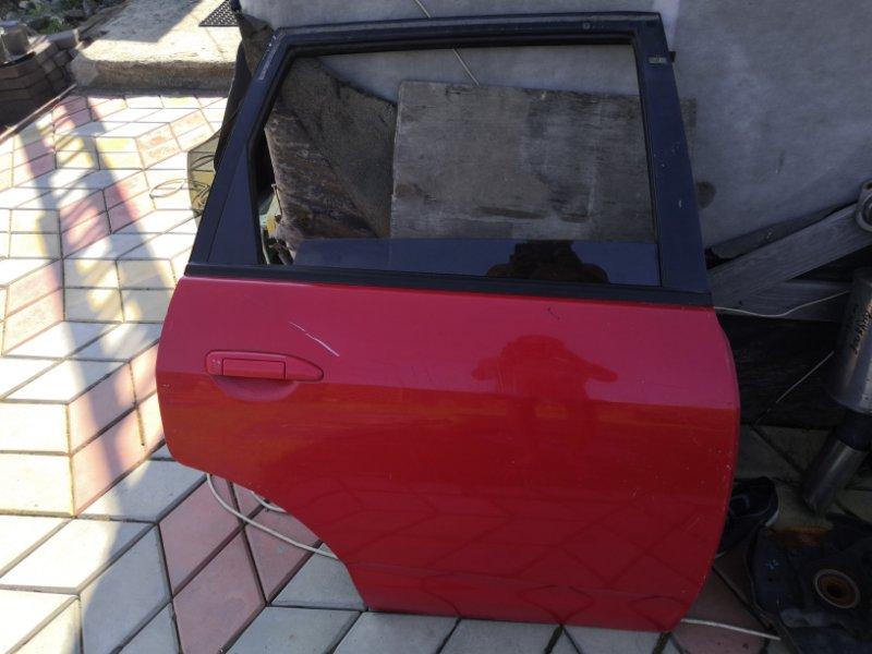 Дверь Nissan Wingroad Y11 QG15-DE 1999 задняя правая (б/у)