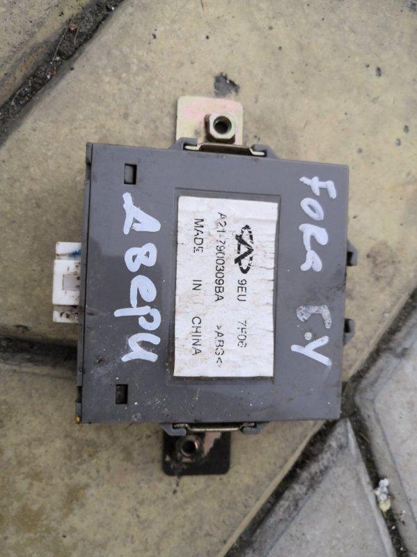 Блок управления дверьми Chery Fora A21 A21 SQR484 2006 (б/у)