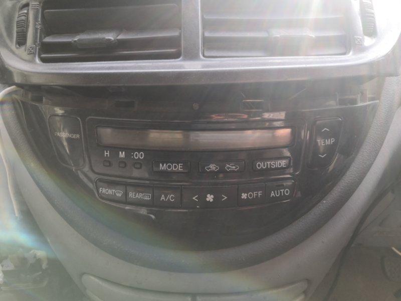 Блок управления климат-контролем Toyota Estima XR30 2AZ-FE 2000 (б/у)