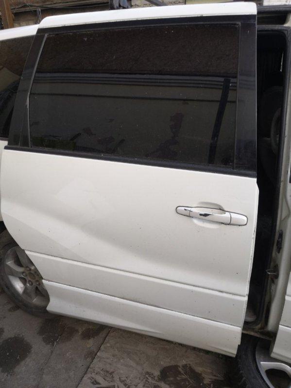 Дверь Toyota Estima XR30 2AZ-FE 2000 задняя правая (б/у)