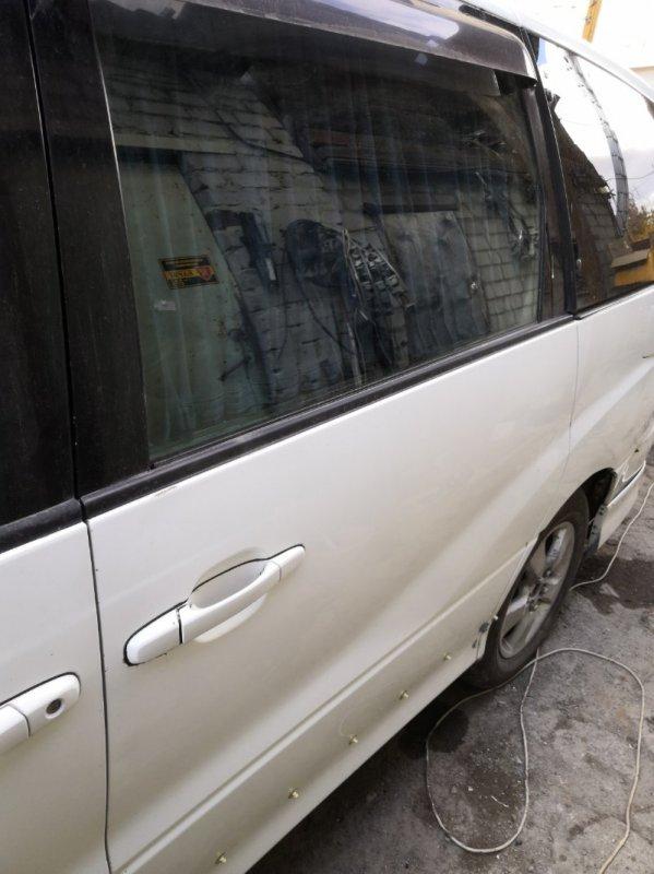 Дверь Toyota Estima XR30 2AZ-FE 2000 задняя левая (б/у)